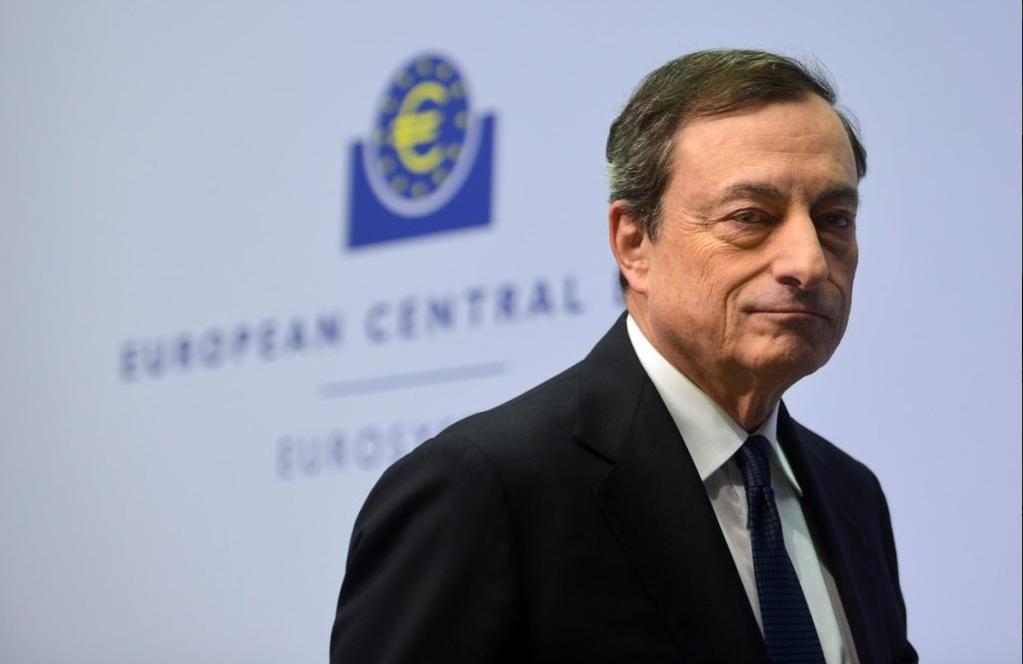 Mario Draghi, presidente do BCE. / Twitter
