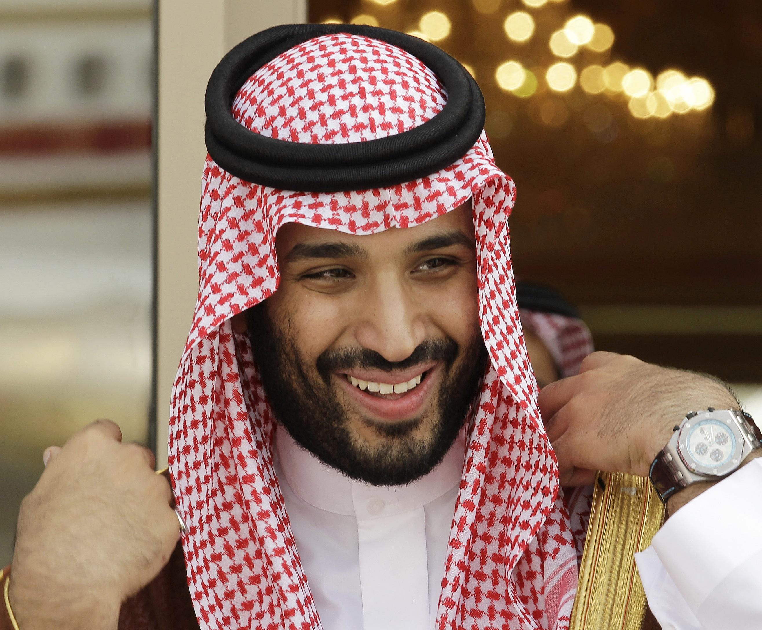 Mohamed bin Salman, príncipe herdeiro saudita e ministro da Defesa do país.  / Gtres