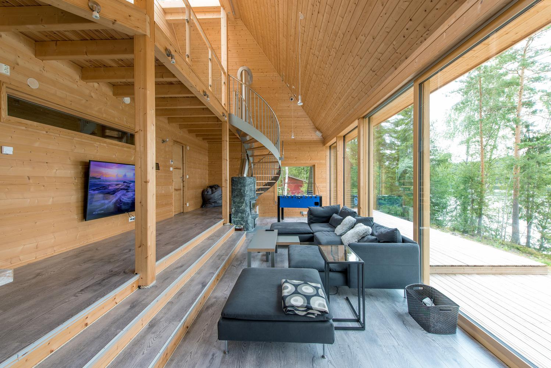 A luz natural é aproveitada em todos os ângulos da casa