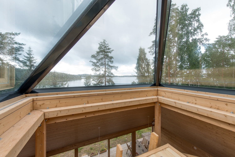 Um espaço para desfrutar da paisagem envolvente