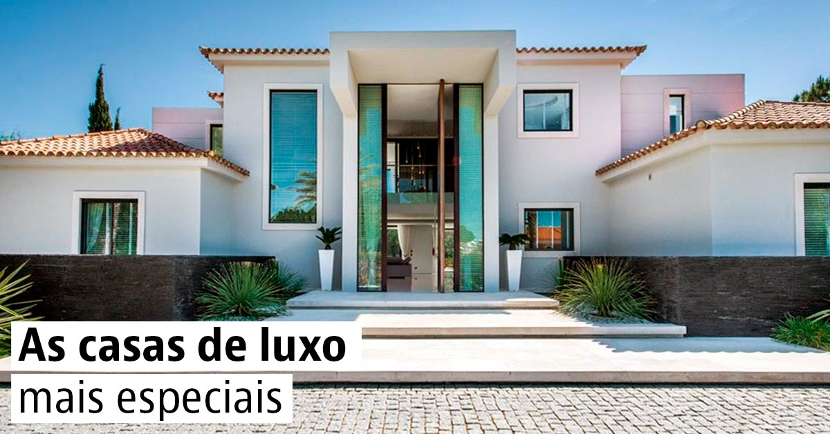 Casas de luxo em portugal idealista news for Casas modernas idealista