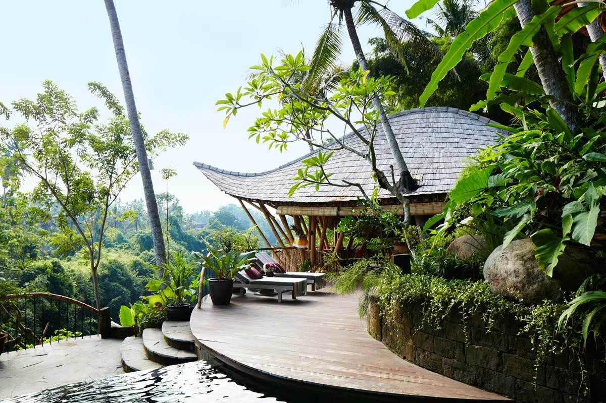 Bali: assim é viver no meio da floresta...