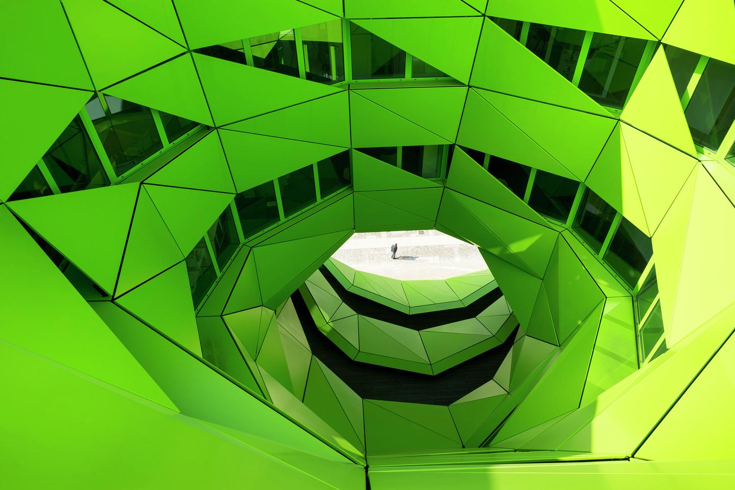 Euronews / Jakob + MacFarlane Architects / Nicolas Borel