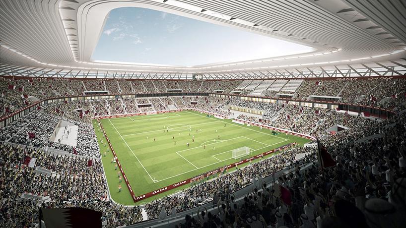 Interior do estádio