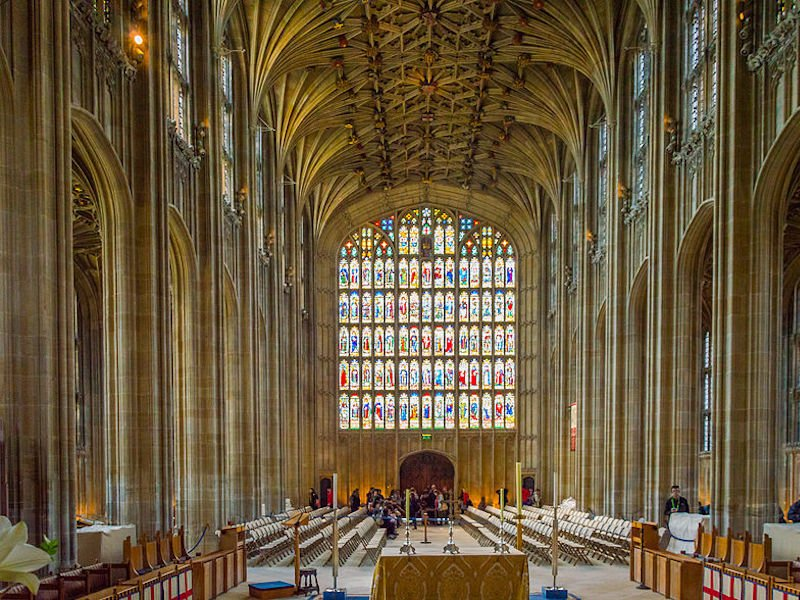 É uma das igrejas mais bonitas do Reino Unido
