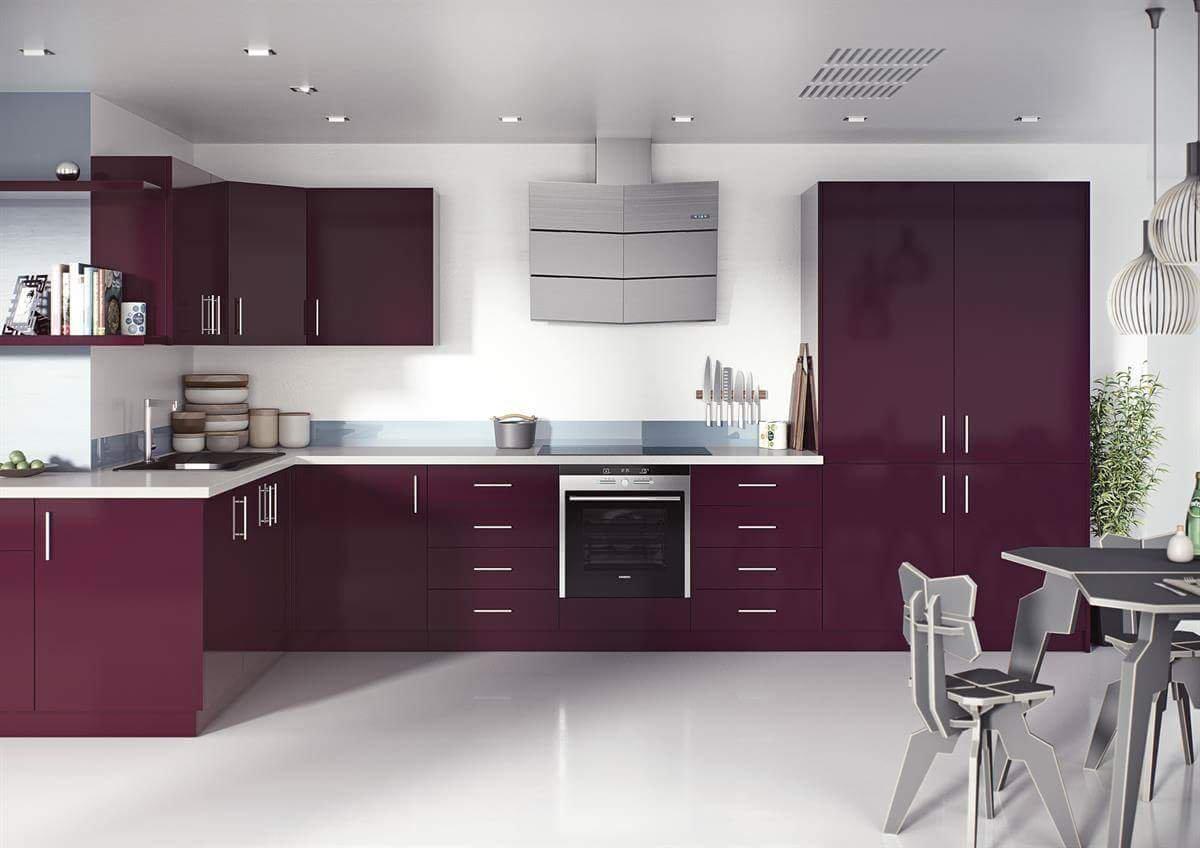 Na cozinha também cabe o violeta