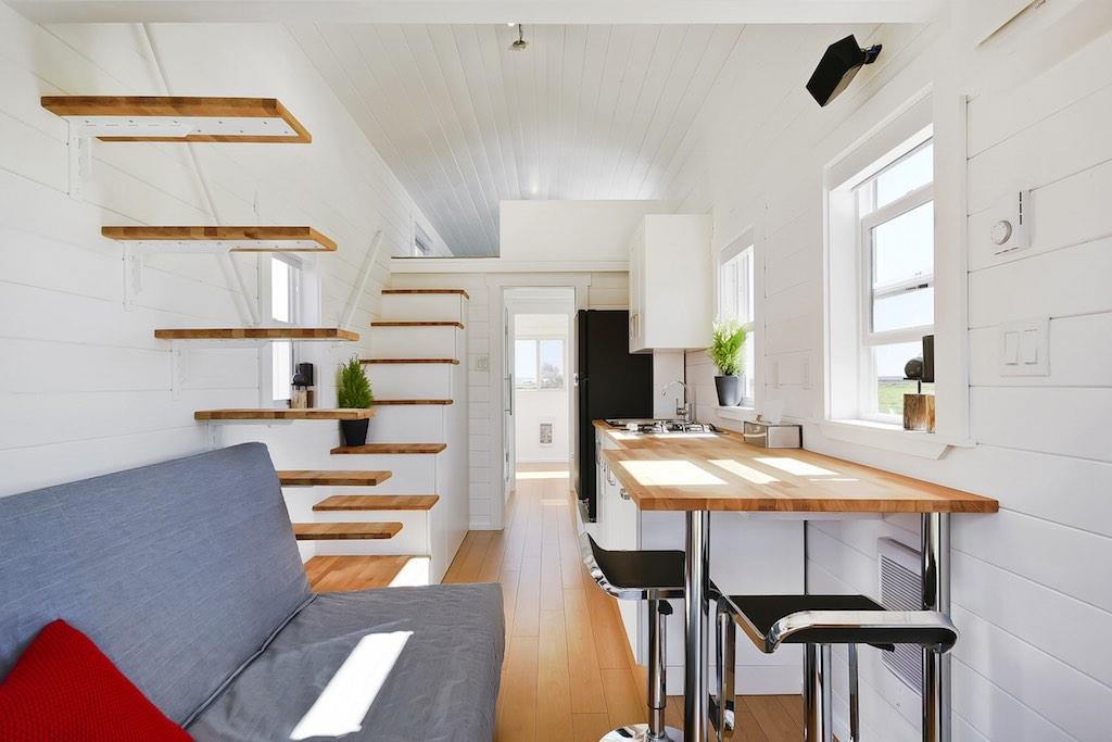 Apresentamos-te uma casa portátil com 28 m2...