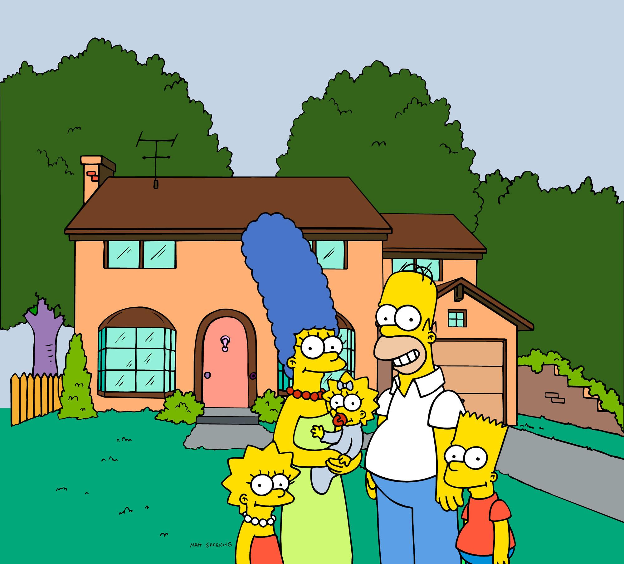 A casa dos Simpsons na fictícia cidade de Springfield. / Gtres