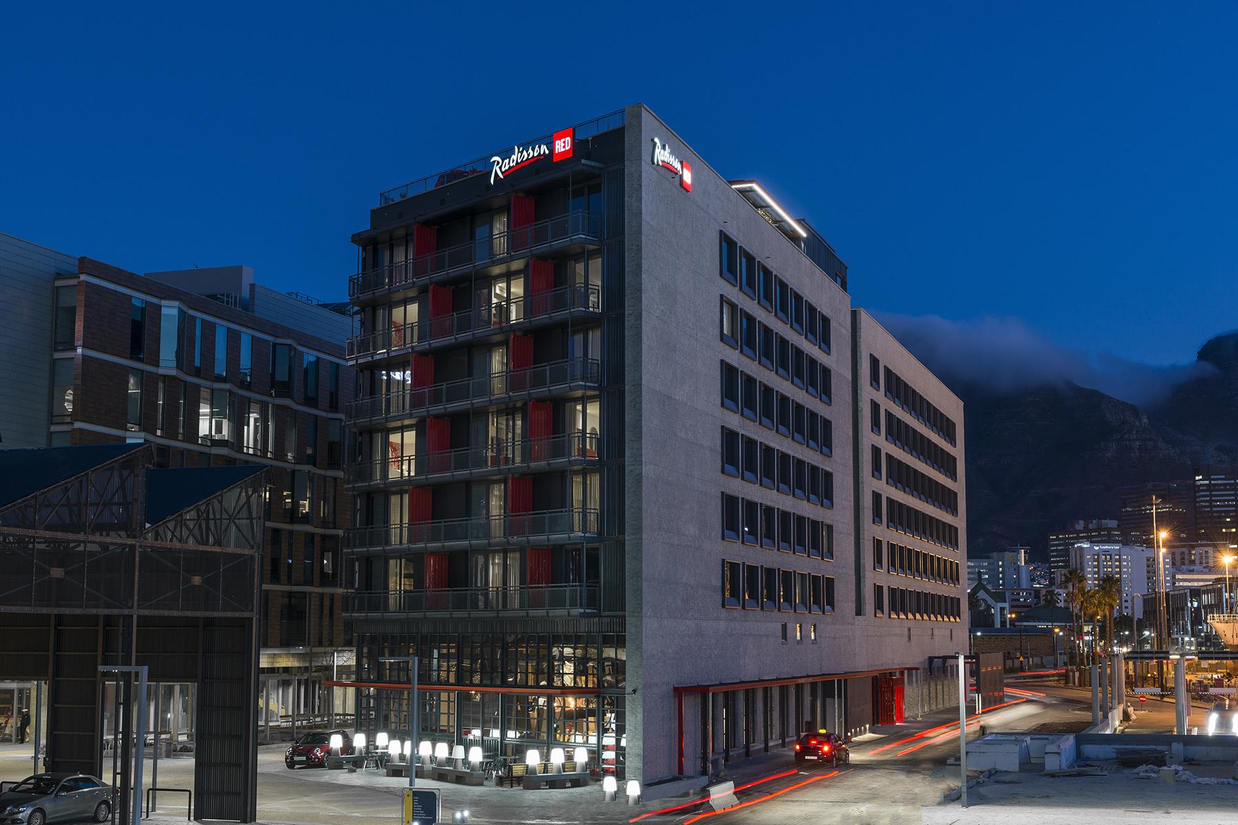 O hotel fica na Cidade do Cabo
