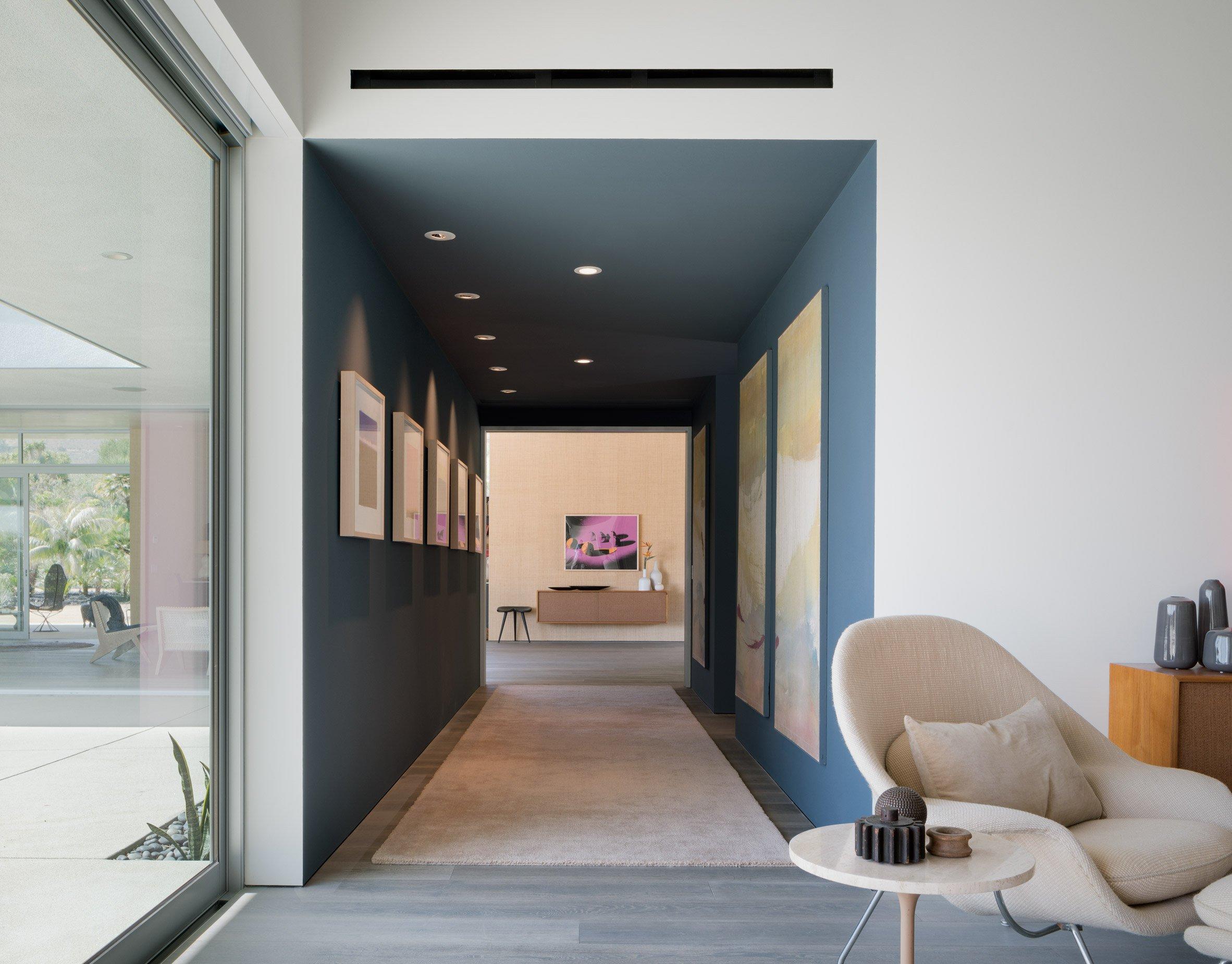 Um espaço minimalista...