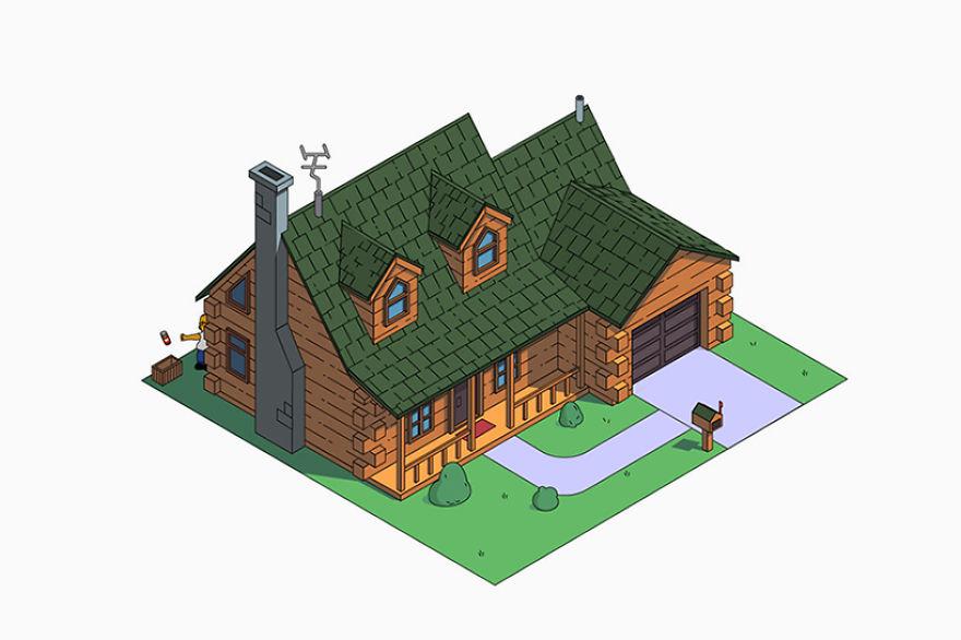 2 – Cabana de madeira