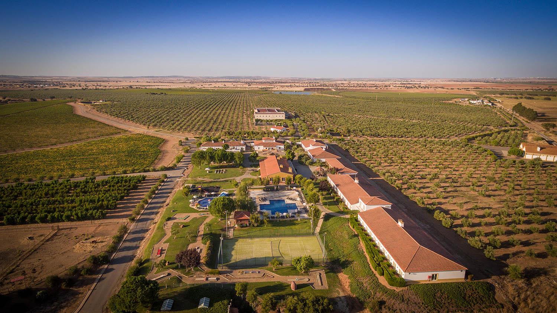 Vista aérea do Vila Galé Clube de Campo, em Beja / Vila Galé Hotéis