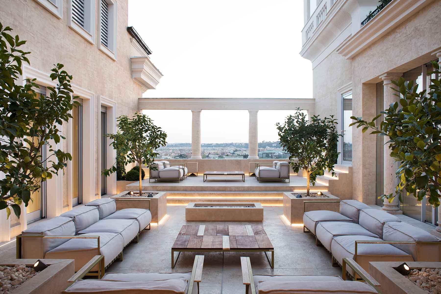 Um espaço de luxo e repleto de luz