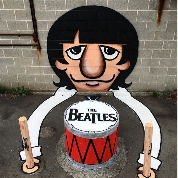 The Beatles... em todo o lado