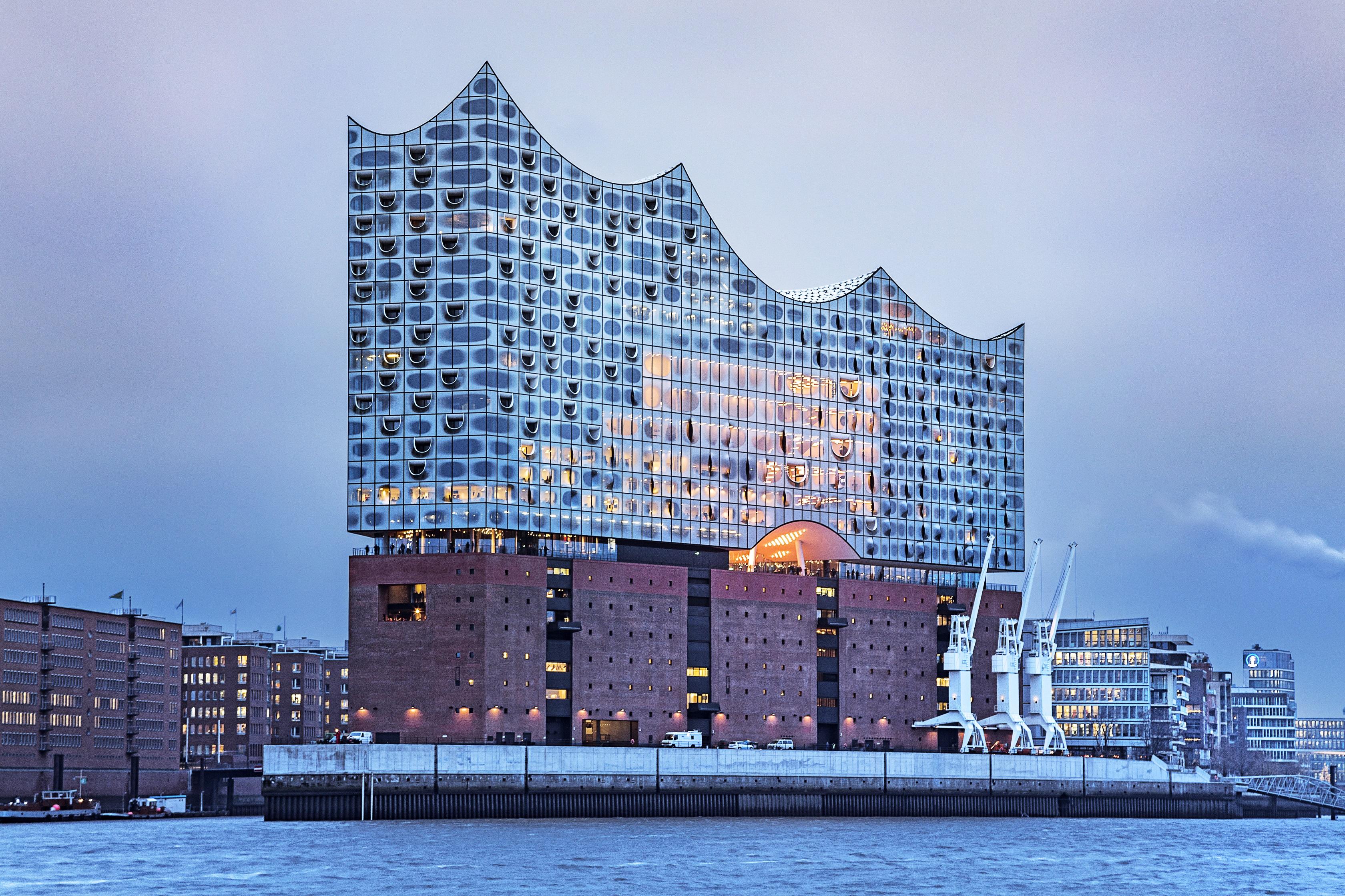 5º lugar: Elbphilharmonie Hamburg/Alemanha