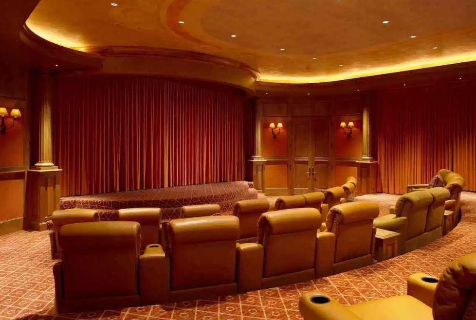 Sala de cinema, claro...