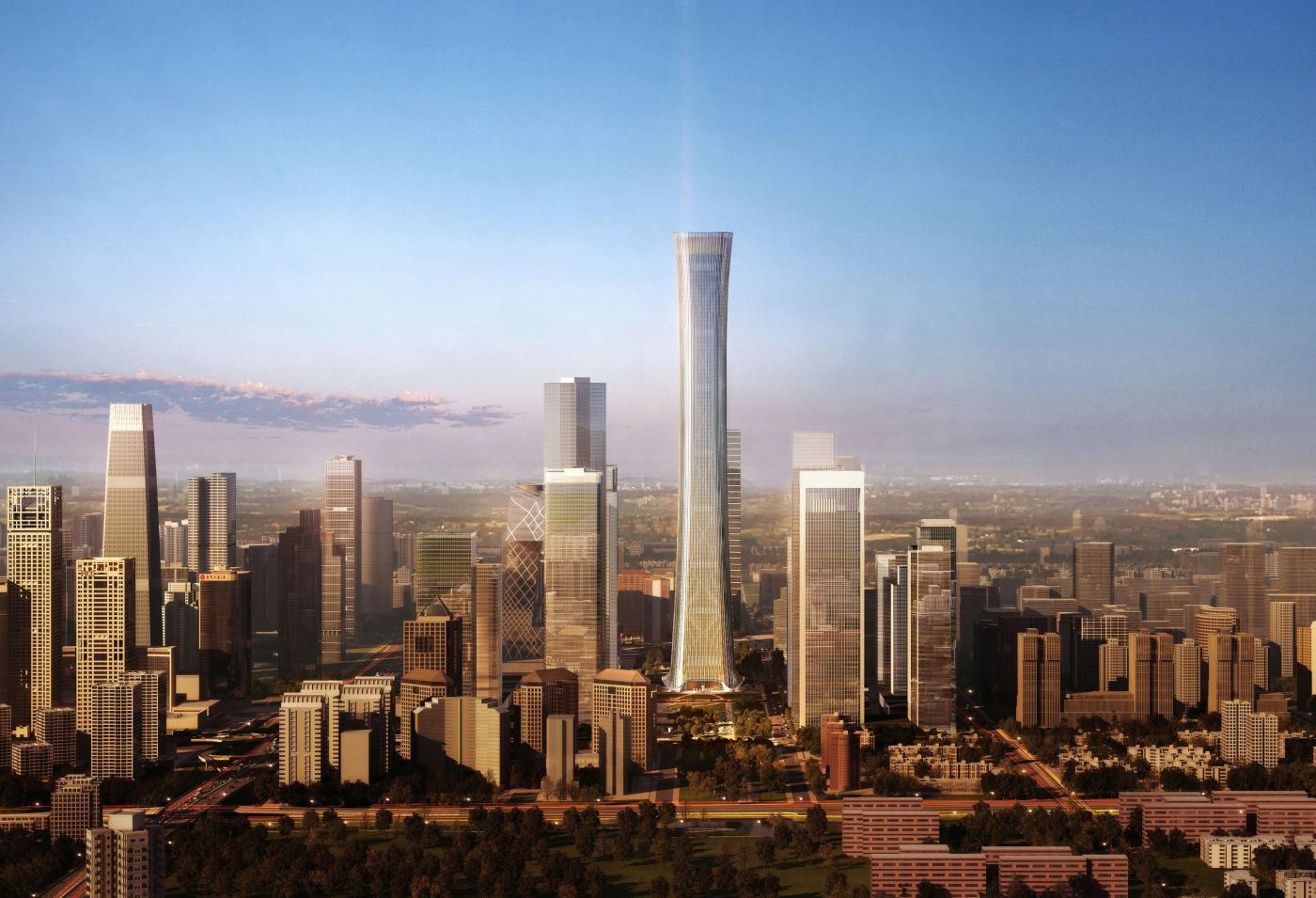 O edifício mais alto de 2018, na China