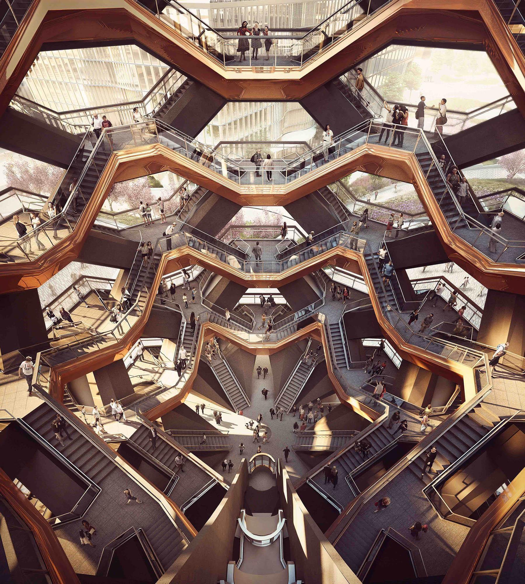 O edifício das escadas infinitas