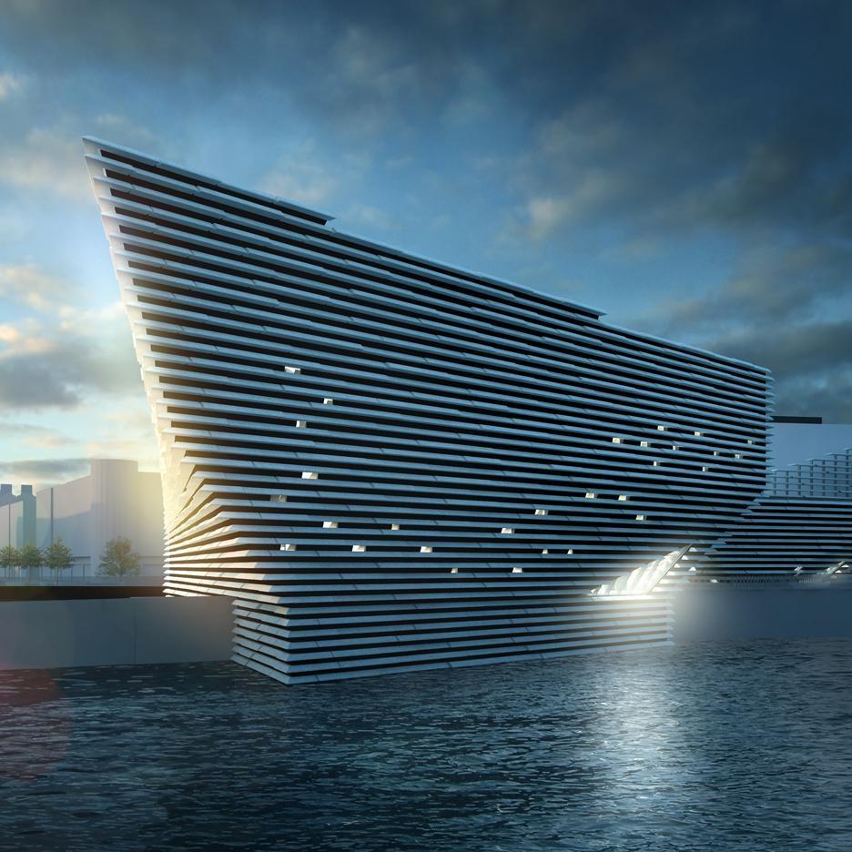 O museu escocês de geometrias desafiantes