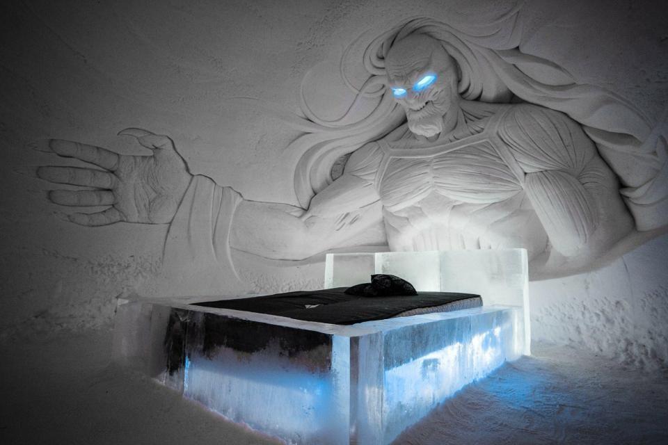 O quarto dos White Walkers