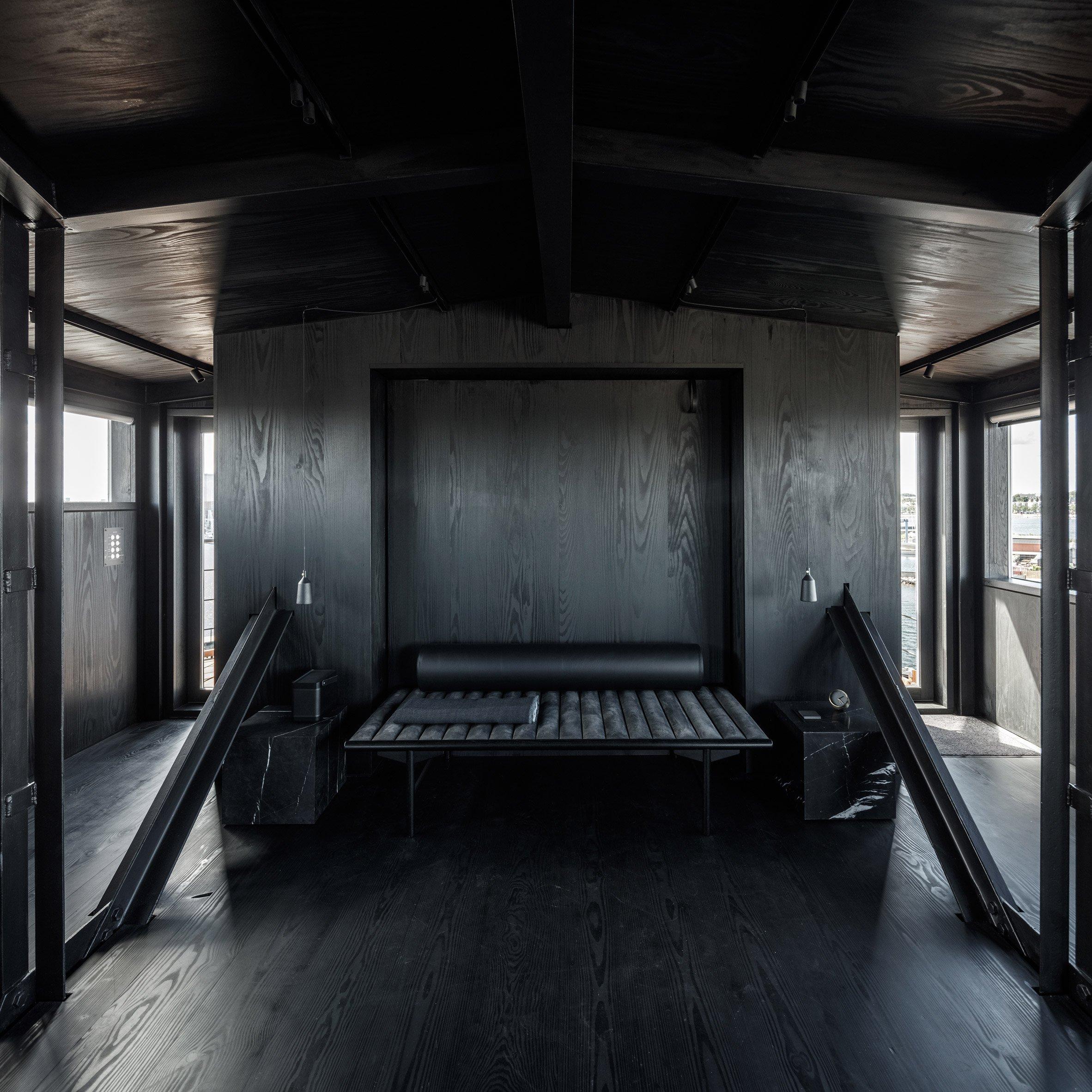O quarto sofisticado e minimalista