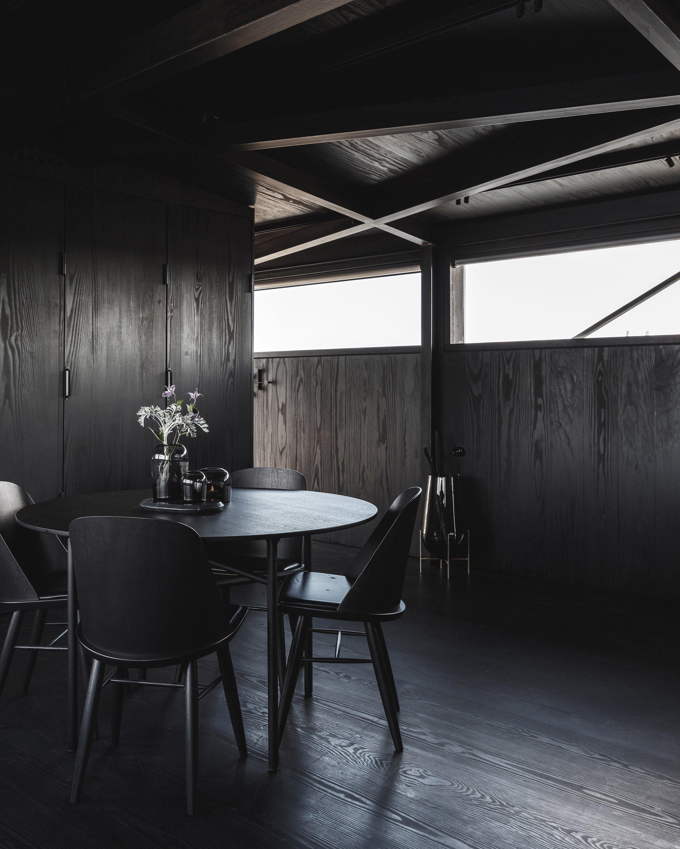 Um espaço de refeição...