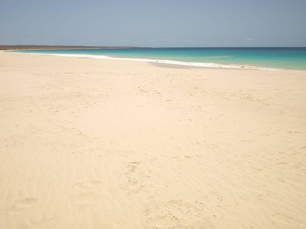 17- Santa Monica State Beach, Cabo Verde