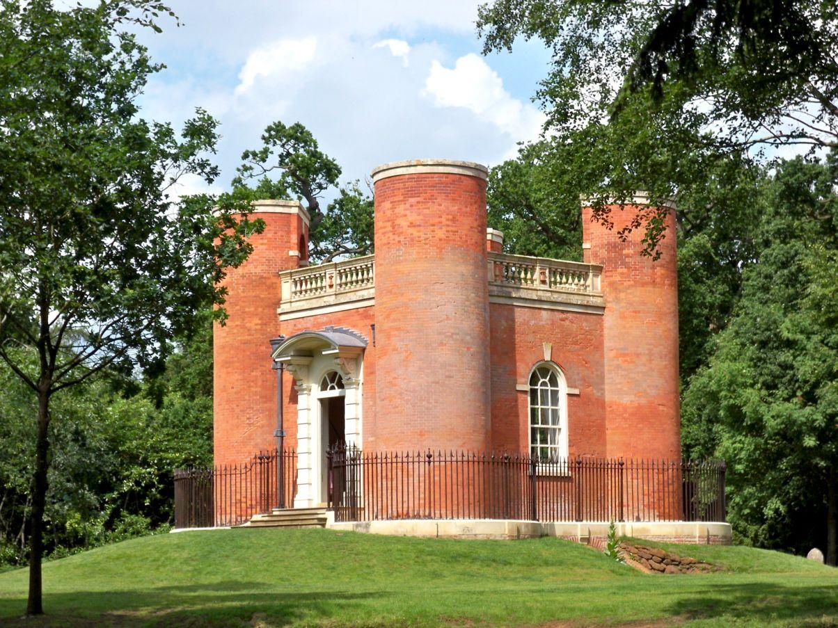 Um edifício do século XVIII