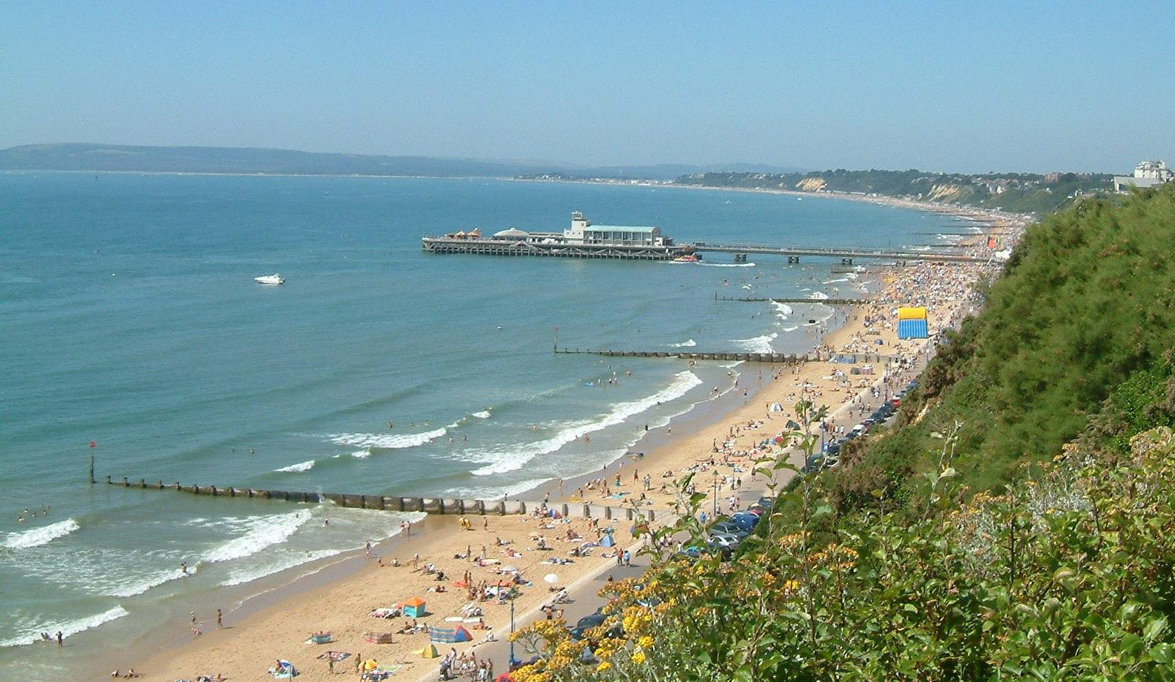 14- Bournemouth Beach, Inglaterra