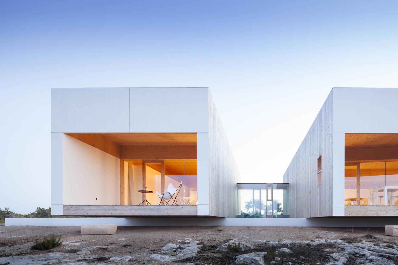 Bioconstru o e design numa casa de sonho na ilha de - Interni arquitectos ...