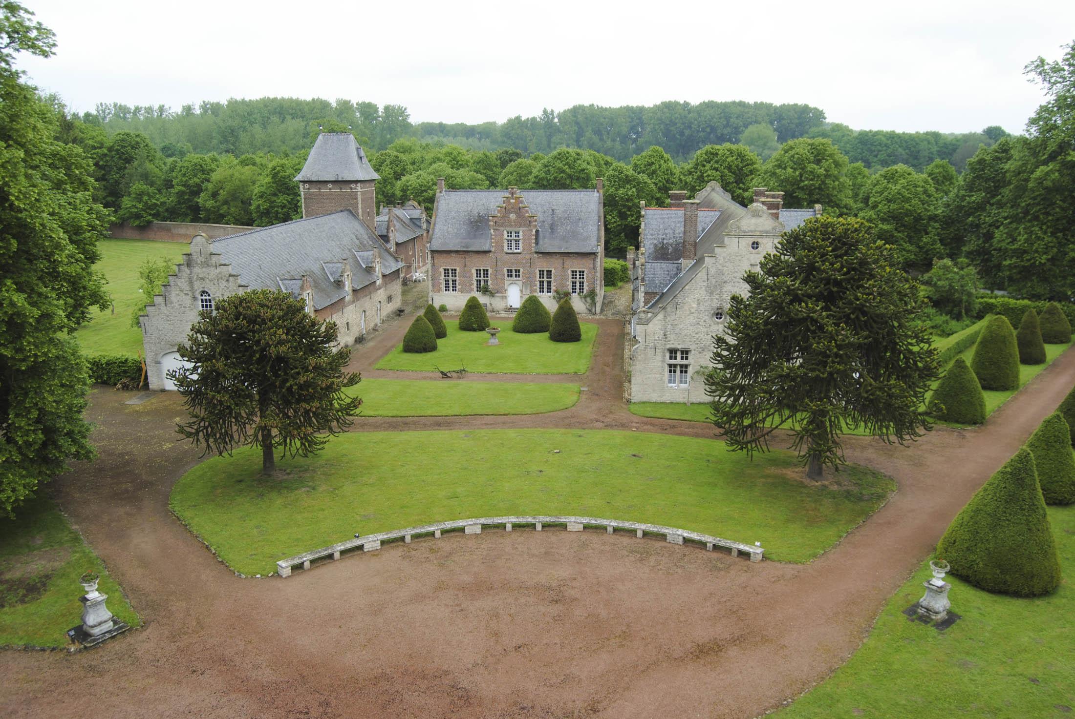 Peter Paul Rubens viveu neste castelo nos últimos anos da sua vida