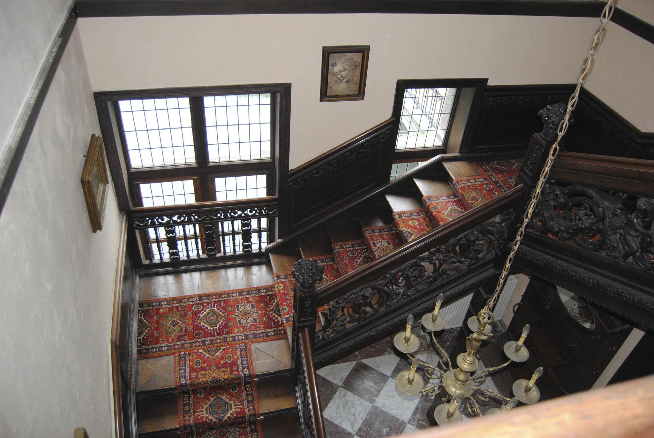 Uma escadaria com muita classe...