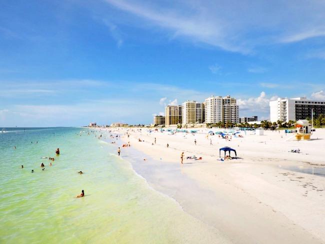 7- Clear Water Beach, Flórida
