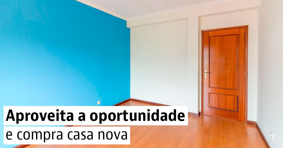 Aproveita a oportunidade e compra casa nova