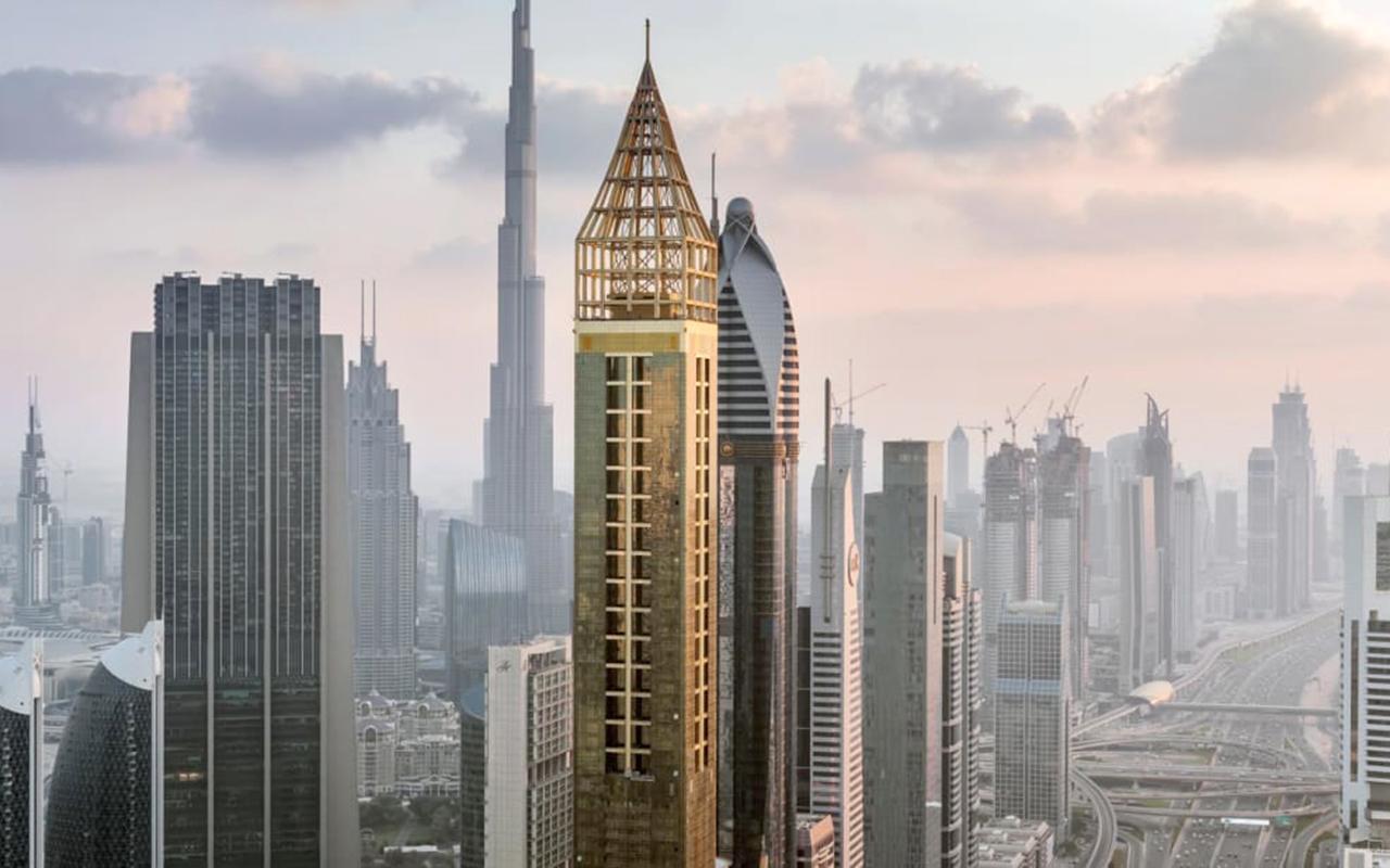 Um hotel com 357 metros de altura