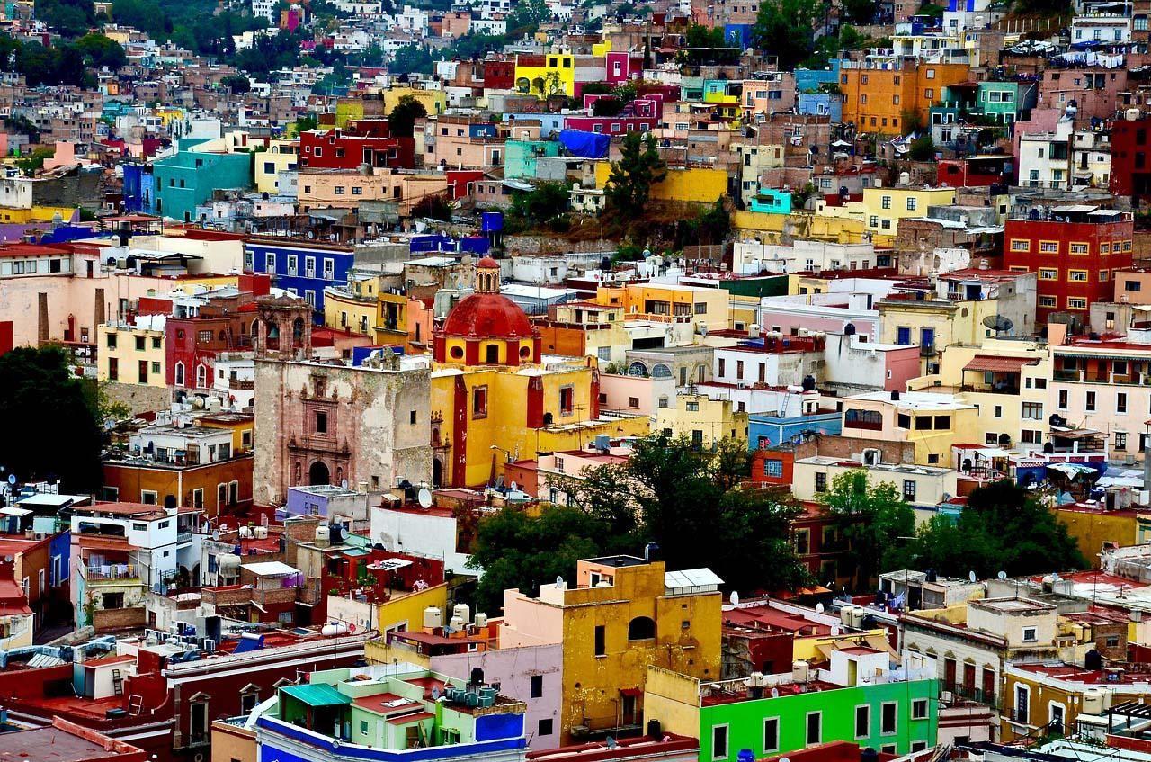 Guanajuato, o México colonial e mineiro