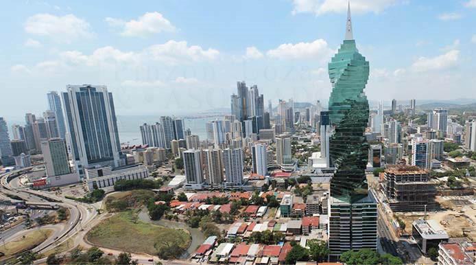 A torre retorcida do Panamá