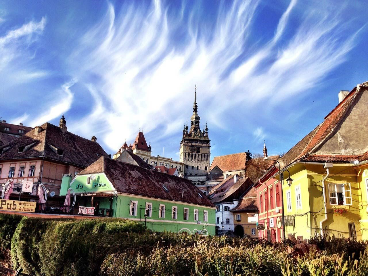 Sighisoara, a colorida cidade do Drácula