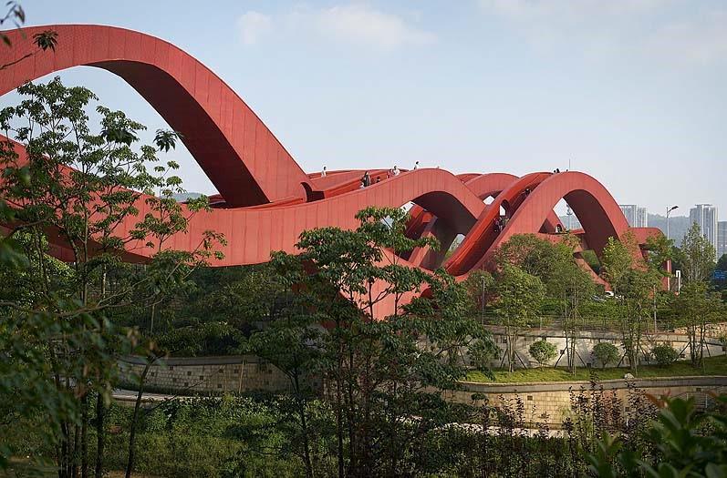 A ponte chinesa das ondas