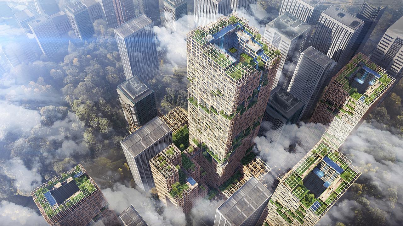 O arranha-céus terá 350 metros de altura