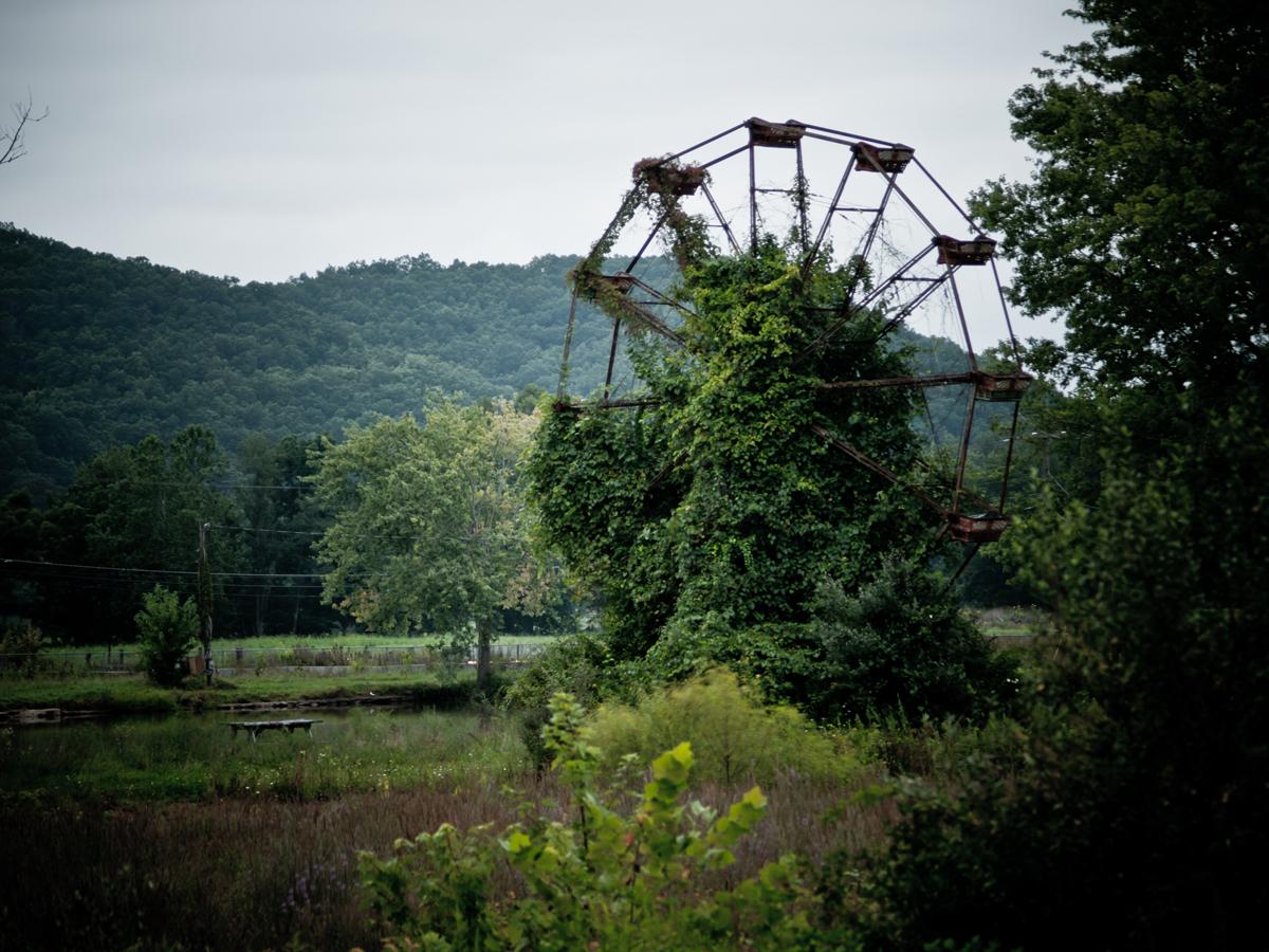 O que resta de uma roda gigante