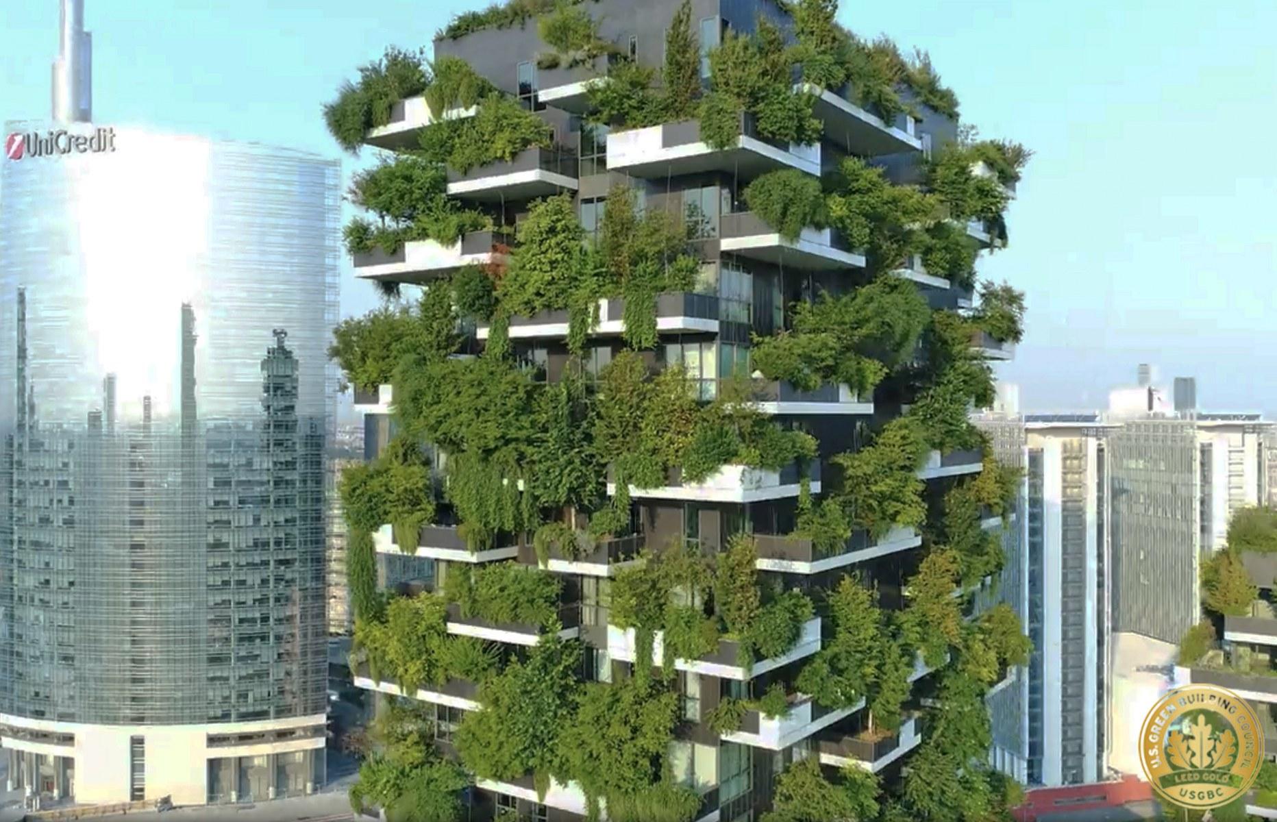 Floresta vertical de Milão