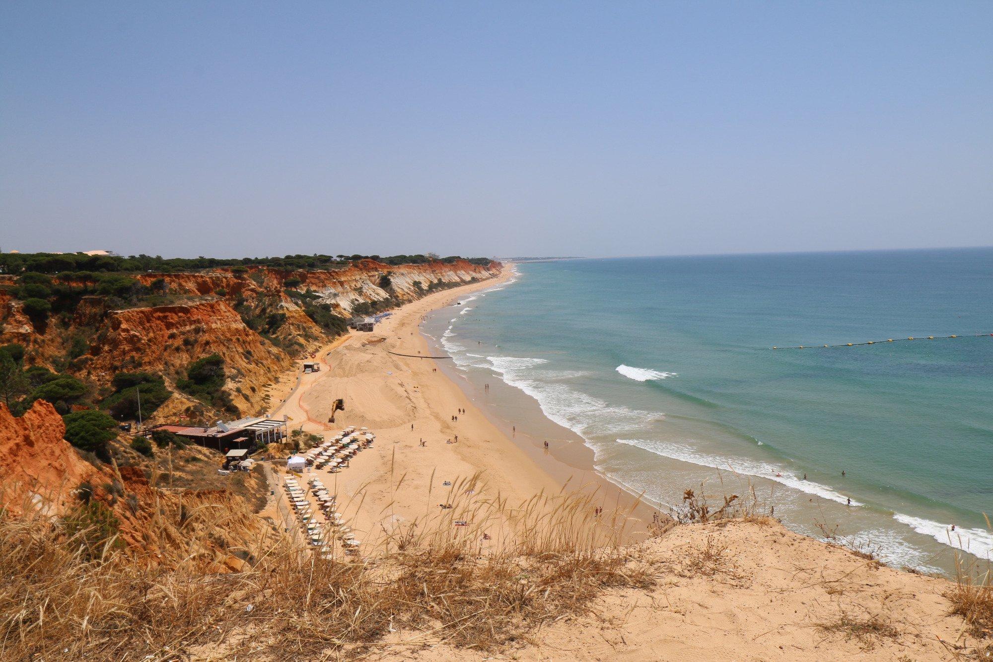 12- Praia da Falésia, Portugal