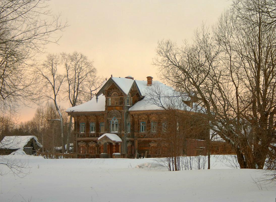 Uma casa de madeira com muita história
