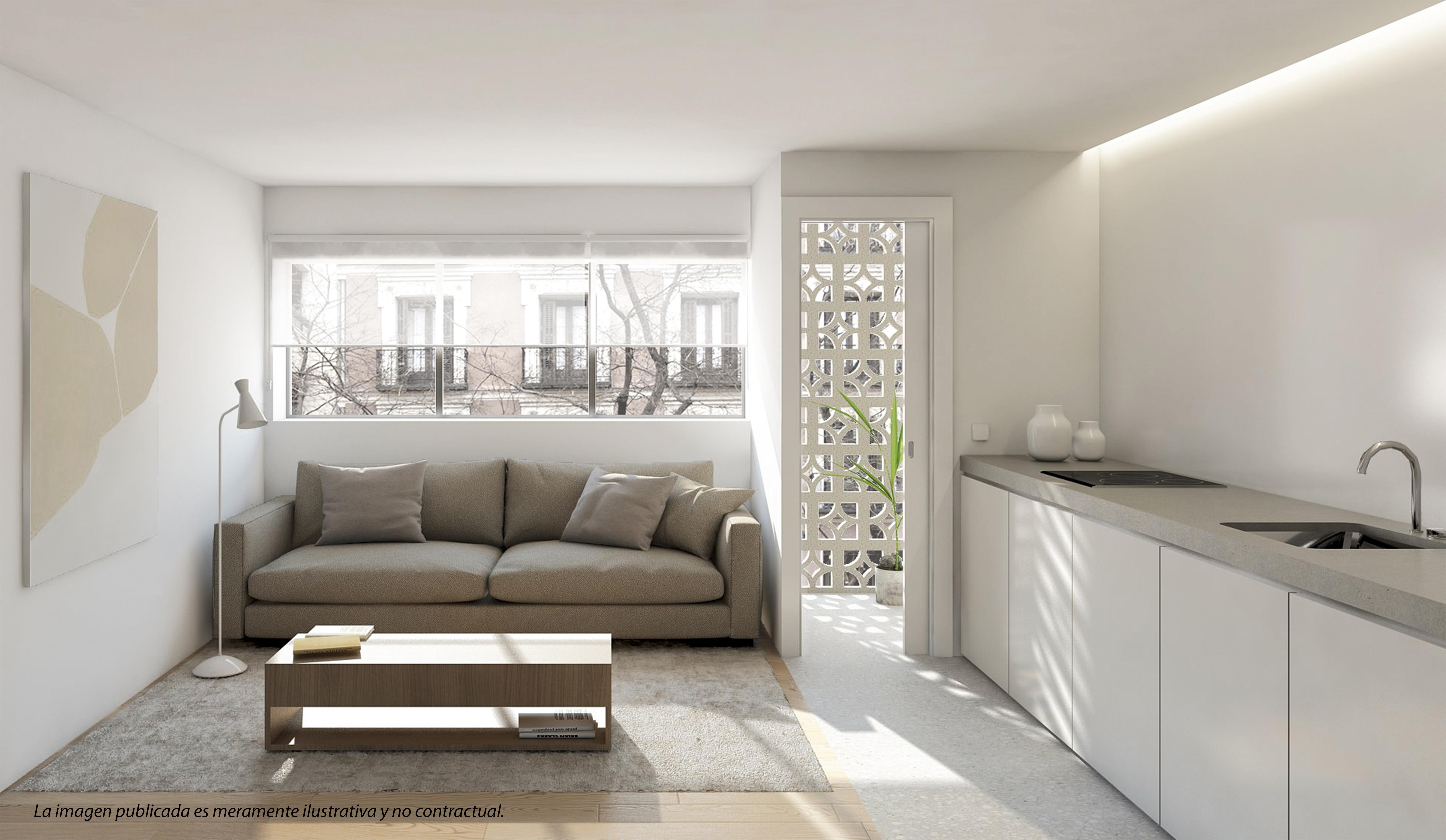 Assim será o apartameto de 42 m2 que será arrendado na Cidade Universitária / Housers