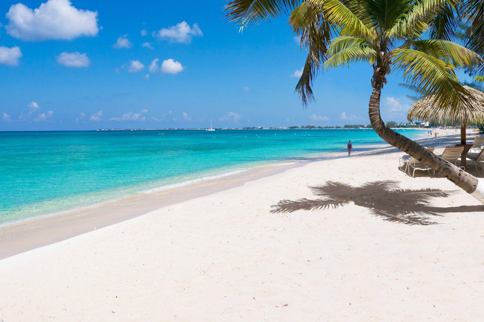 5- Seven Mile Beach, Ilhas Caimão