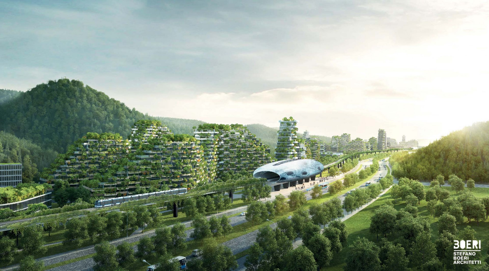 Recriação de Liuzhou Forest City