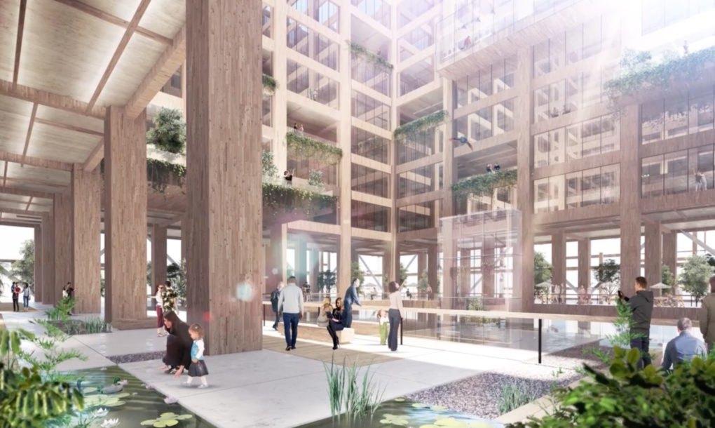 Os estúdio de arquitetura Nikken Sekkei é responsável pelo projeto
