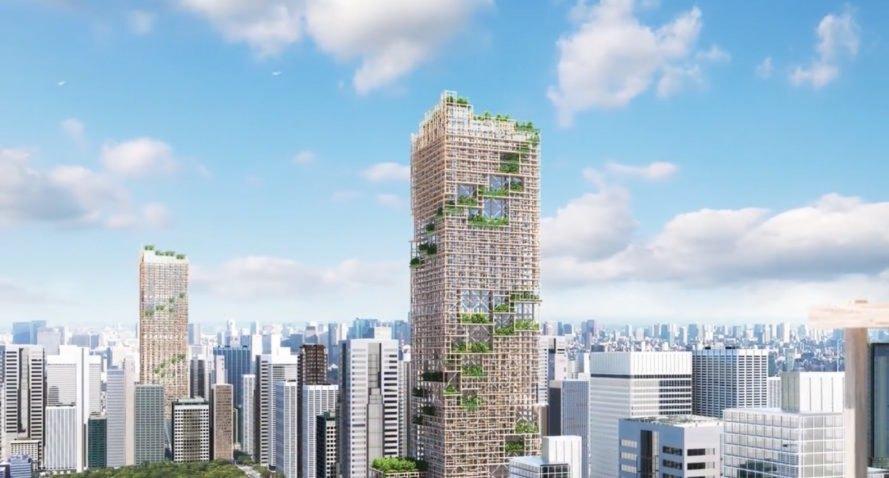 ... e será construído em Tóquio