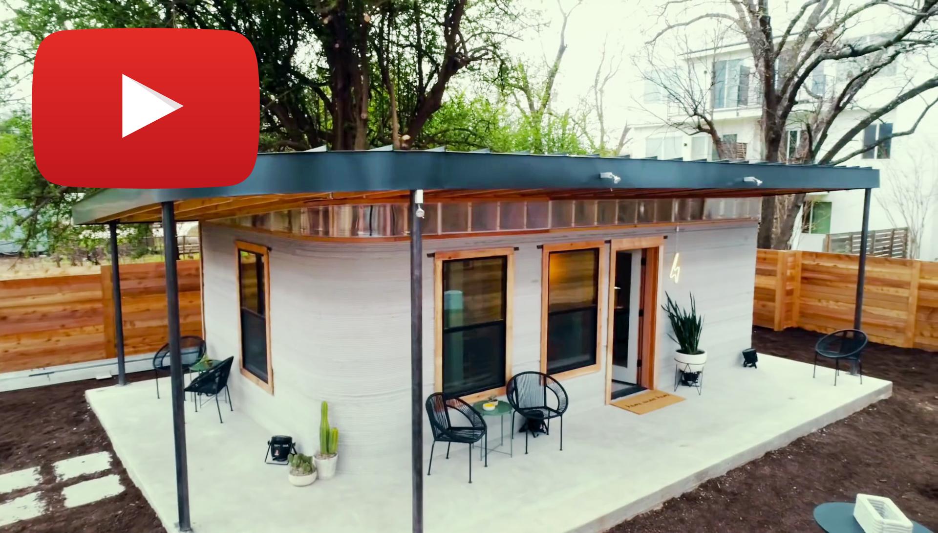 As casas têm 60 m2 e são construídas em menos de 24 horas